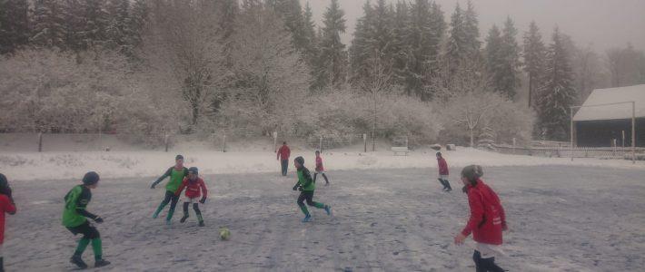 E-Junioren -Trainingslager Waldpark Grünheide