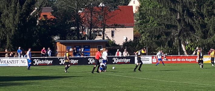 SV Rositz   –   SV Elstertal Bad Köstritz     3:2  ( 1:1 )