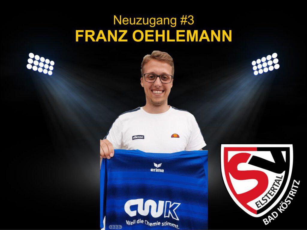 Neuzugang Franz Oehlemann 2021
